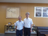 Courtesy Visit by a Dean, College of Engineering, National Taiwan University ( 5 August 2019 )