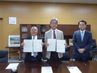 The Graduate School of Engineering signs an Agreement with National Taiwan University (2019.9.24)
